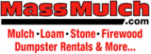 Mass Mulch logo - mulch, loam, stone and more