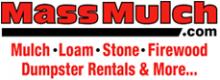 Mass Mulch logo - mulch, loam, stone and more