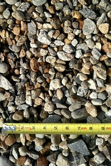 3 qtr aggregate material