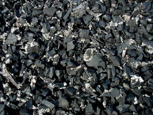Black Rubber Mulch